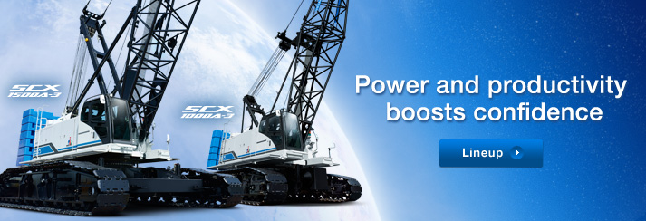 SCX1500A-3/SCX1000A-3 | Power and productivity boosts confidence